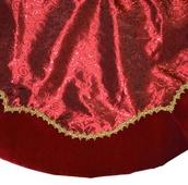 "48"" Red Tree Skirt"