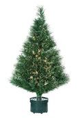 3' Green Fiber Optic Tree