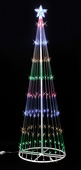 9' Multi LED Light Show Tree