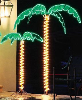 4.5' Deluxe Lighted Palm Tree