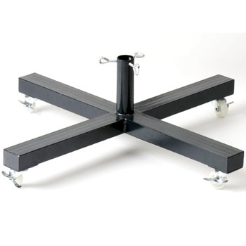 "1.25"" X 26"" Rolling Tree Stand for Artificial Trees"
