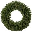 Sequoia Fir Commercial Unlit Wreath