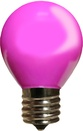 S11 Opaque Purple, 10 Watt Replacement Bulbs