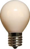 S11 Opaque White, 10 Watt Replacement Bulbs