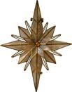 """10"""" Bethlehem Star Tree Topper"""