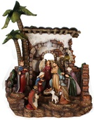 "13.8"" Lighted Nativity Music Box"