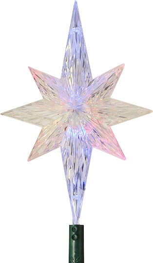 Christmas Decorations 11 Quot Led Morphing Star Tree Topper