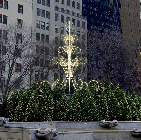 LED 15' Animated 3-D Fountain of Lights