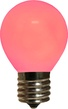 S11 Opaque Pink, 10 Watt Replacement Bulbs