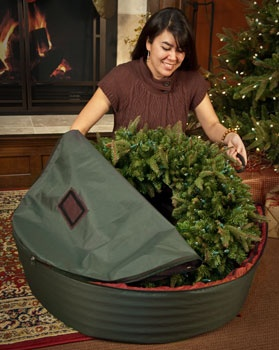 "WreathKeeper Storage Bag for 24"" Wreath"