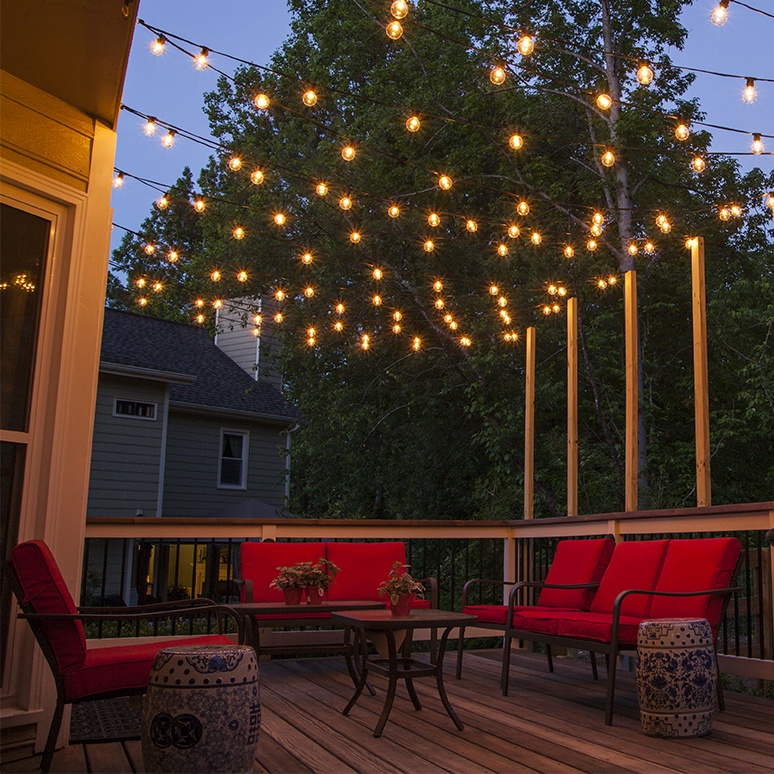 light up wall deor.htm how to plan and hang patio lights  how to plan and hang patio lights