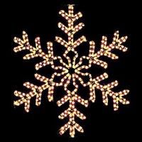 christmas snowflakes stars - Lighted Christmas Decorations