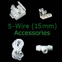 5-wire 15mm Rope Light Accessories