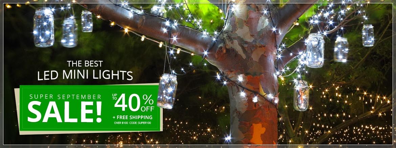Super September LED Mini Light Sale!