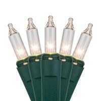 clear mini Christmas light strings