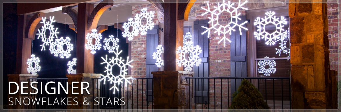 christmas snowflakes stars - Outdoor Christmas Lights Stars