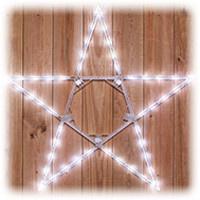folding star Christmas lights