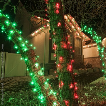 wrapping trees with lights - Commercial Christmas Lights Wholesale