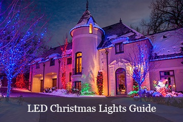 christmas lights roof ideas led christmas lights guide - Exterior Christmas Lights Ideas