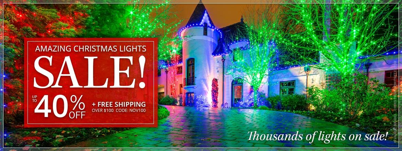 Amazing Christmas Lights Sale!