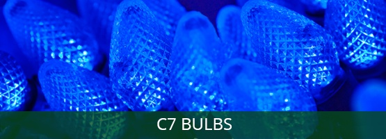 c7 Christmas light bulbs