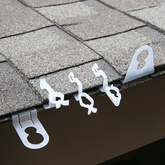 christmas light clips for easy installation - Install Christmas Lights