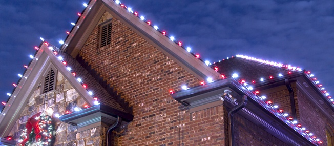 hanging christmas lights - C9 Outdoor Christmas Lights