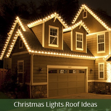 ideas for hanging christmas lights across the roof - Christmas Light Timers