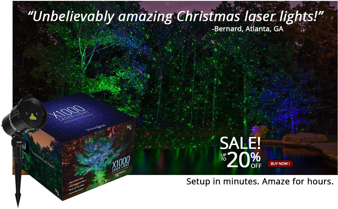 christmas laser light projectors - Laser Lights Christmas Decorations