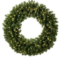 outdoor christmas wreaths lighted christmas topiary animals - Lighted Outdoor Christmas Wreaths