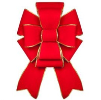 Outdoor Christmas Bows