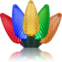 c9 multicolor christmas lights