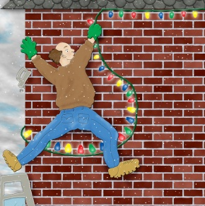 Hanging Christmas Lights:extra supplies needed for hanging christmas lights,Lighting