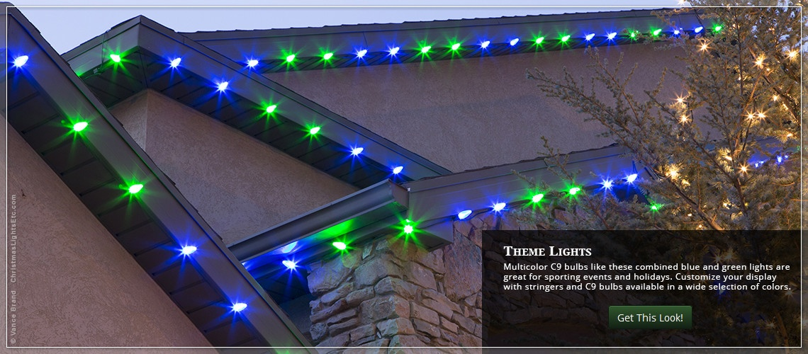 Outdoor christmas lights ideas for the roof aloadofball Image collections
