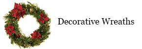 Shop decorative Christmas wreaths