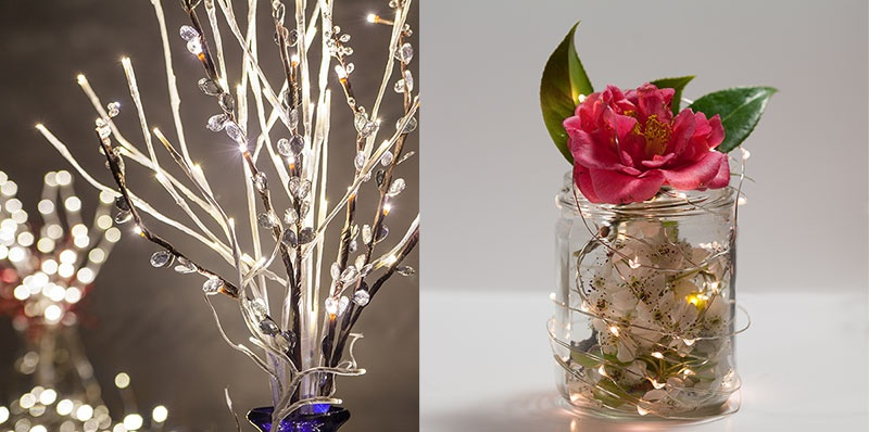 Wedding decorating ideas using craft lights
