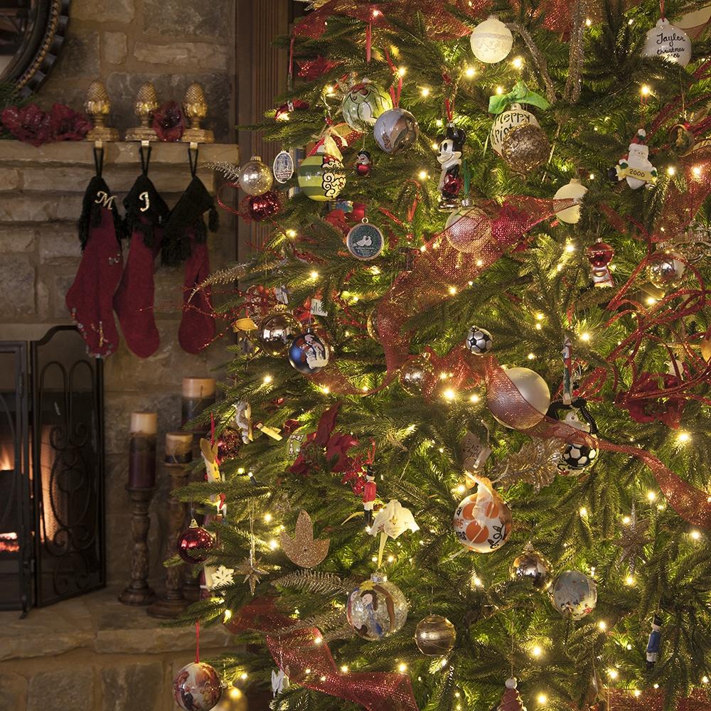 Indoor Christmas Lights Decorating Ideas