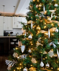 Kitchen Christmas trees