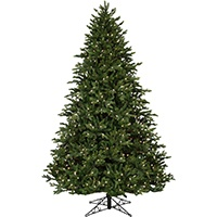 Canadian Fir Prelit Christmas Tree