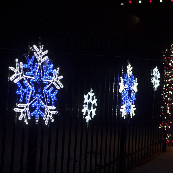 blue-outdoor-christmas-lights (1).jpg - Blue Christmas Lights