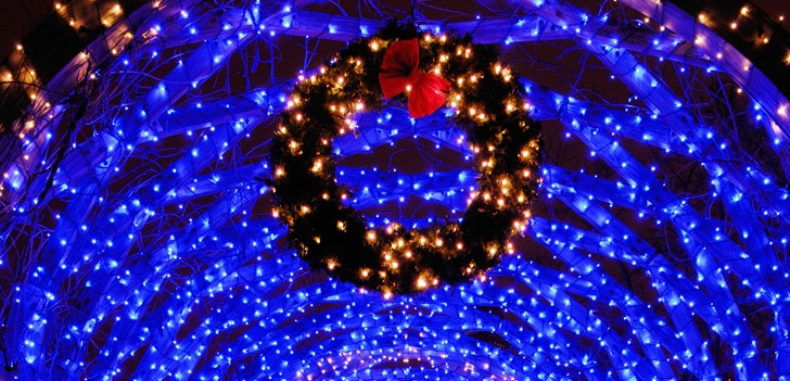 Blue christmas lights blue led christmas lights outdoor christmas decorationsg aloadofball Image collections