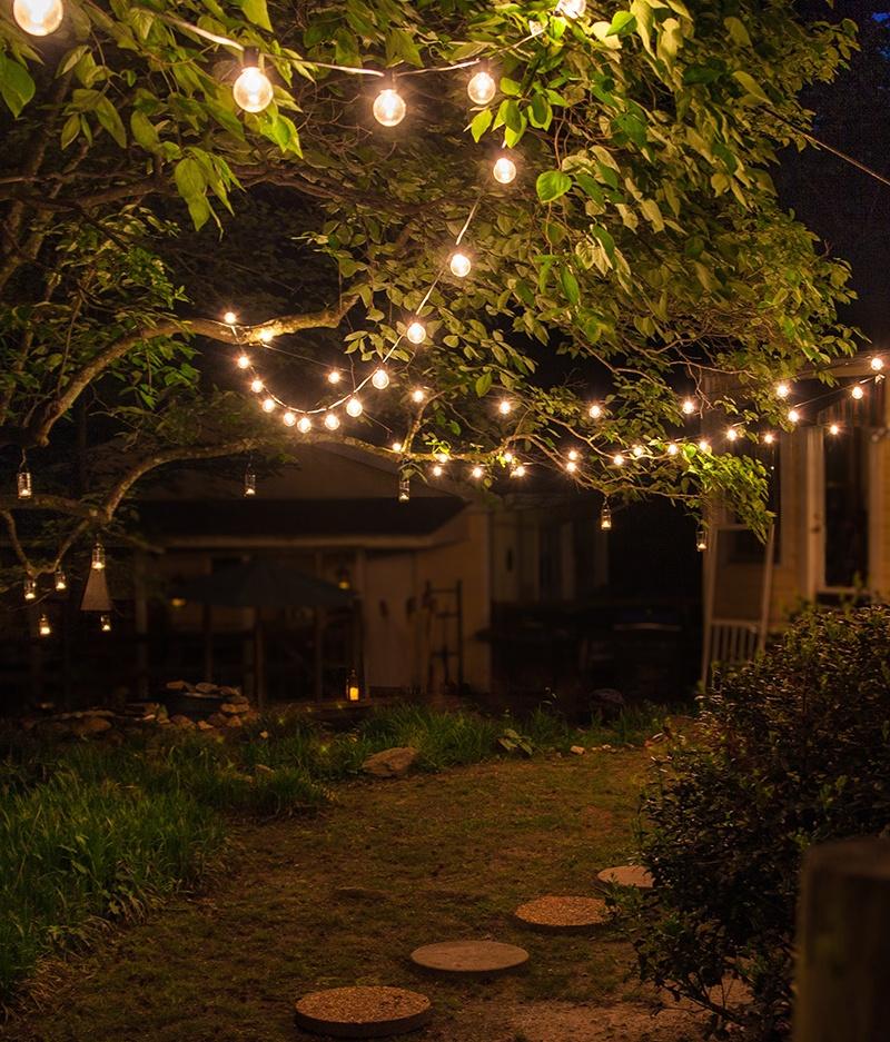 Backyard Patio Walkway Lights