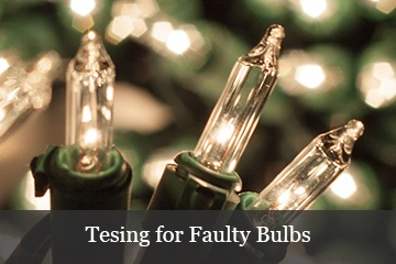 Testing For Faulty Light Bulbs
