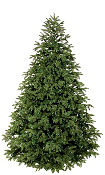 Unlit Artificial Christmas Tree