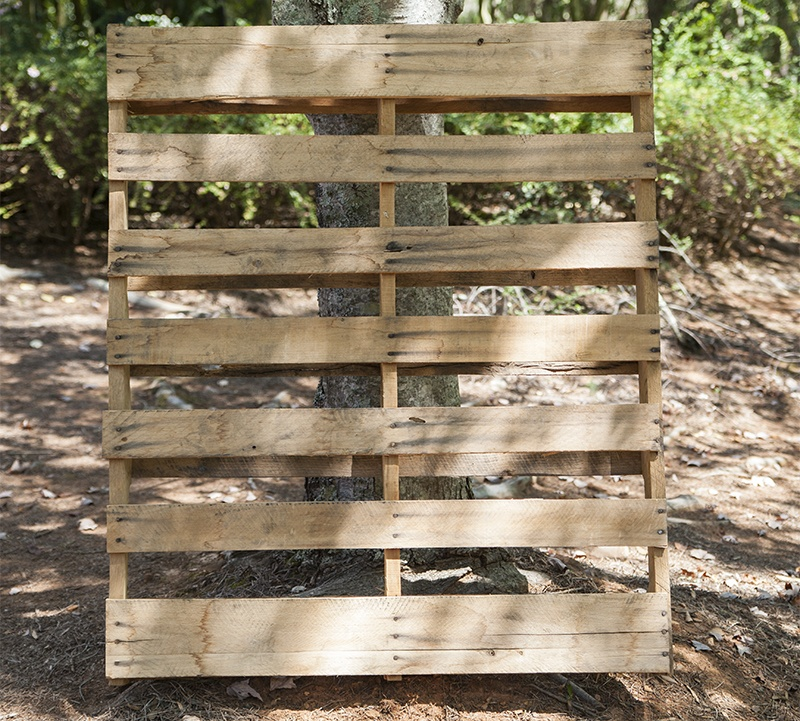 Perfect Pallet for DIY Christmas Trees!