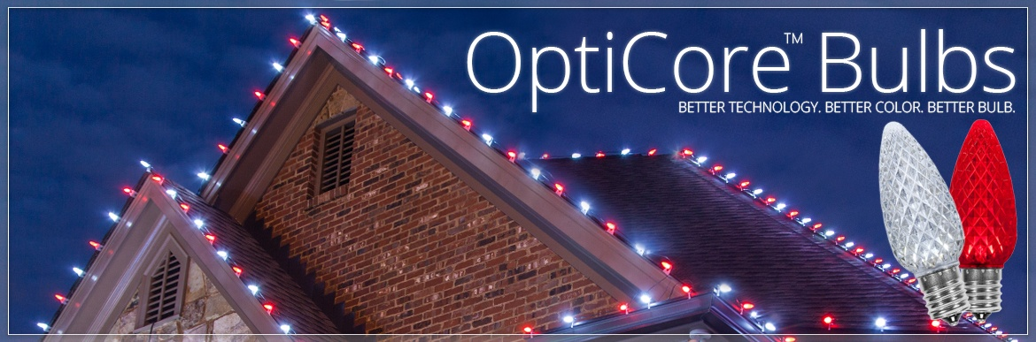 Opticore LED Christmas Light Bulbs