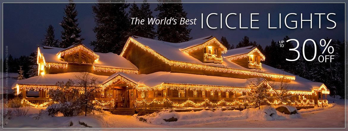 The World's Best Icicle Lights!