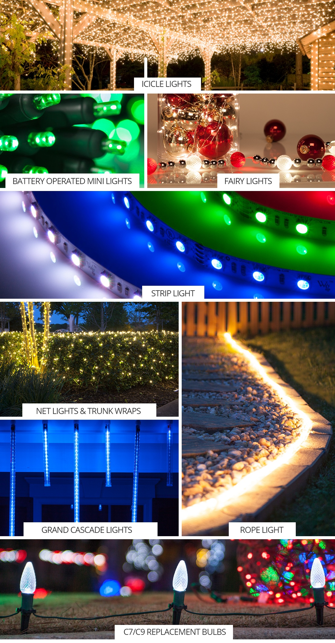 Led christmas lights guide aloadofball