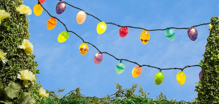 DIY Easter Lights