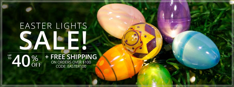 Easter Lights Sale